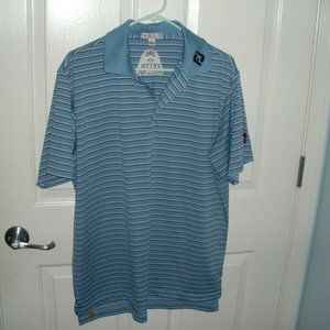 PETER MILLAR TOUR LOGO TITLEIST FJ SHIRT MEDIUM M